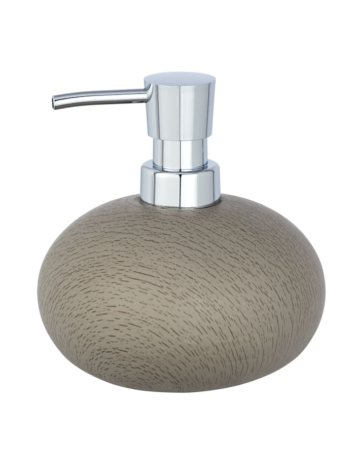 Wenko Seifenspender Joy, Zement, 300 ml, Grau - Taupe