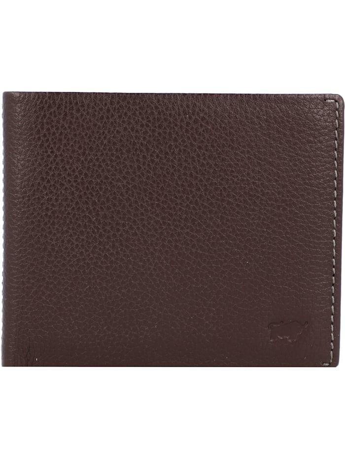 Braun Büffel Prato Geldbörse RFID Leder 11 cm, d. braun