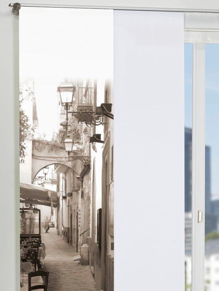 Home Wohnideen Paneelgordijn Salerno, Ecru