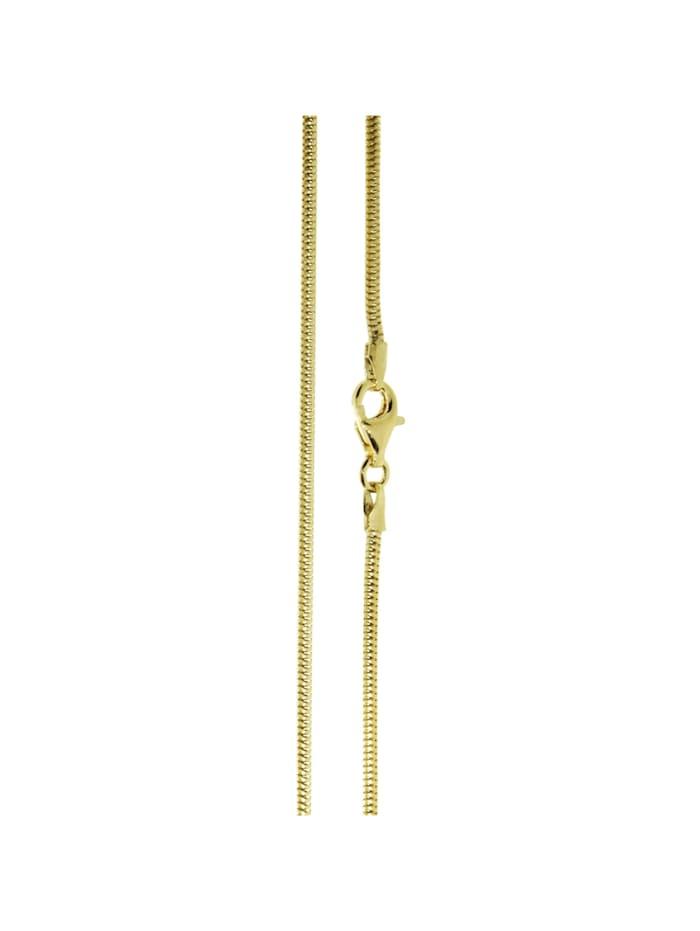 OSTSEE-SCHMUCK Kette - Schlange 1,6 mm - Gold 585/000 - ,, gold