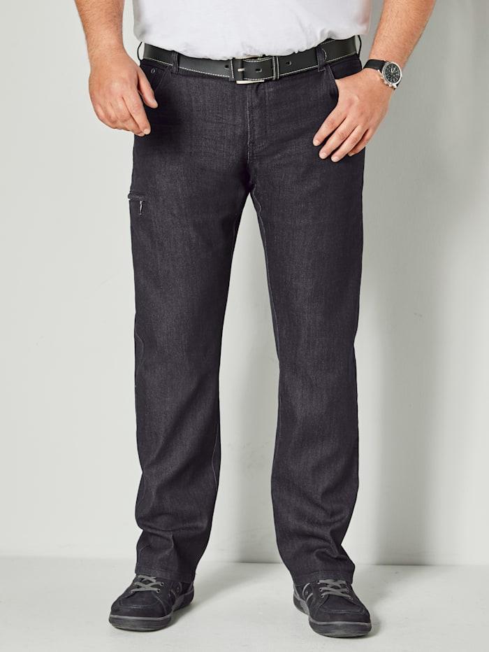 Men Plus Jeans Zeer comfortabel, Black