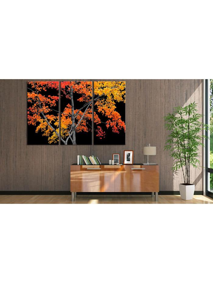 Wandbild Autumn reflection