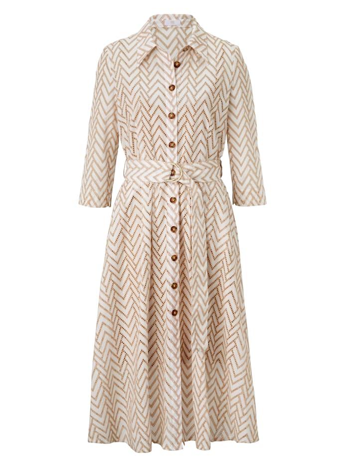 RIANI Kleid, Creme-Weiß