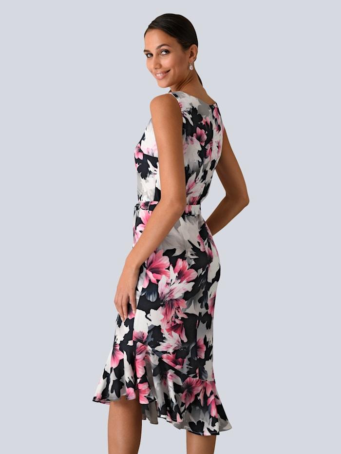 Kleid im exklusiven Alba Moda Druck
