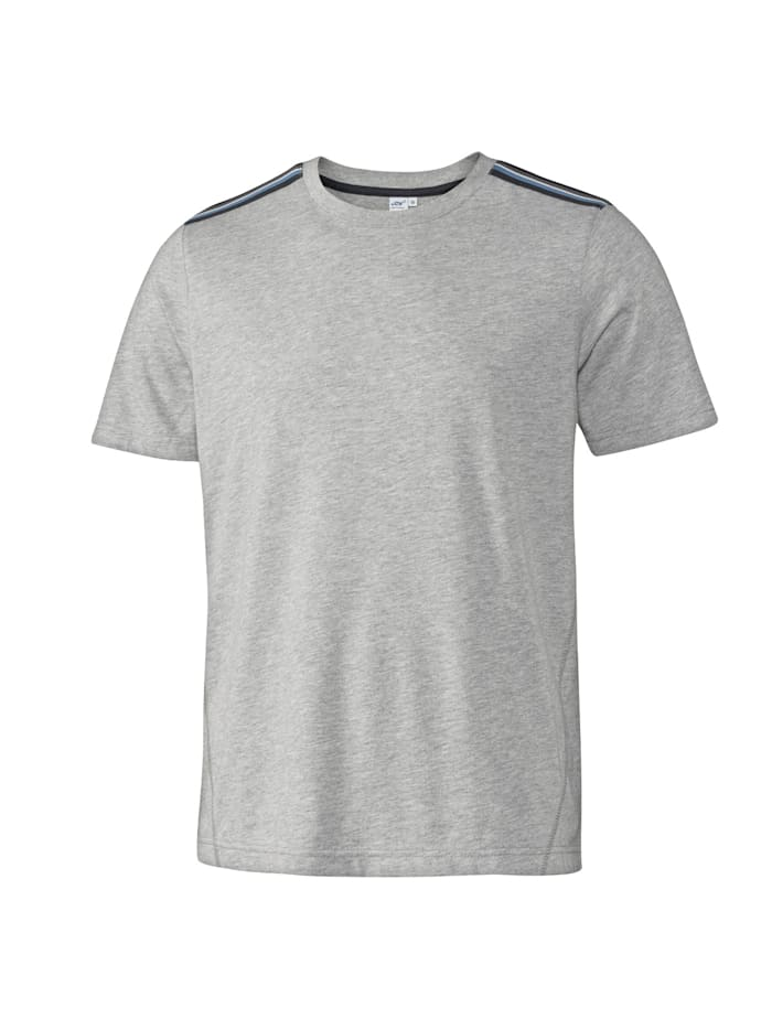 JOY sportswear T-Shirt JURI, titan melange
