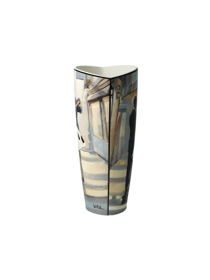 Goebel Vase Trish Biddle - Shopping Tour / Dancers