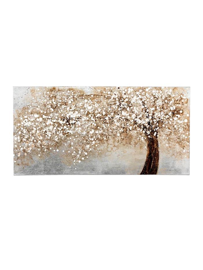 Nástenný obraz, Prírodná biela