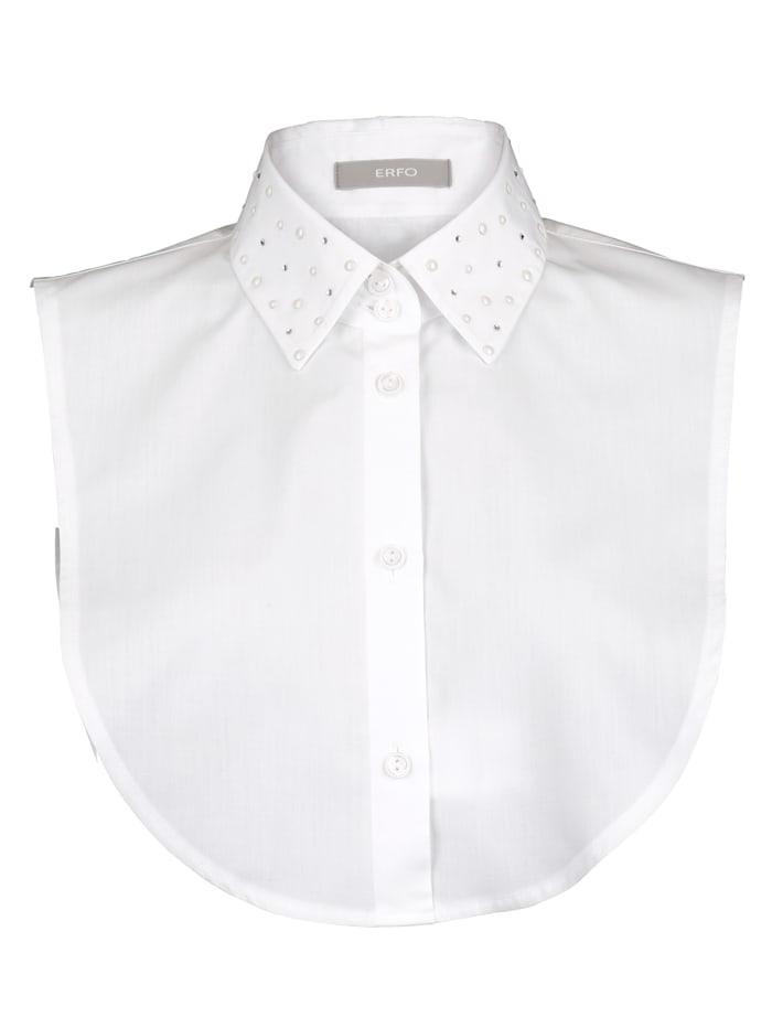 Collar insert with rhinestones