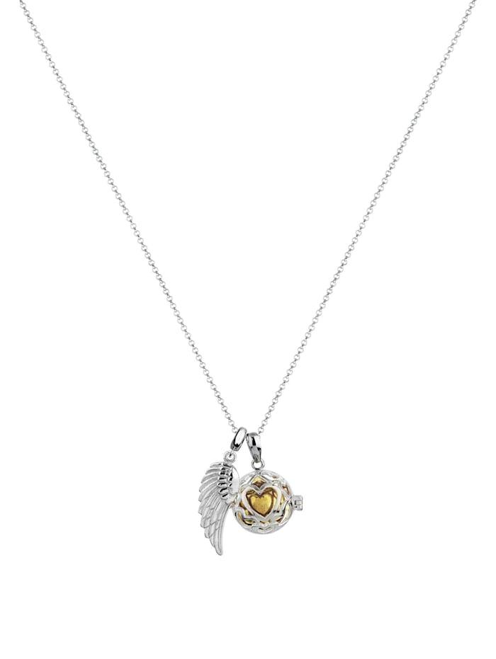 Halskette Engelsflüsterer Klangkugel Himmlisch 925 Silber