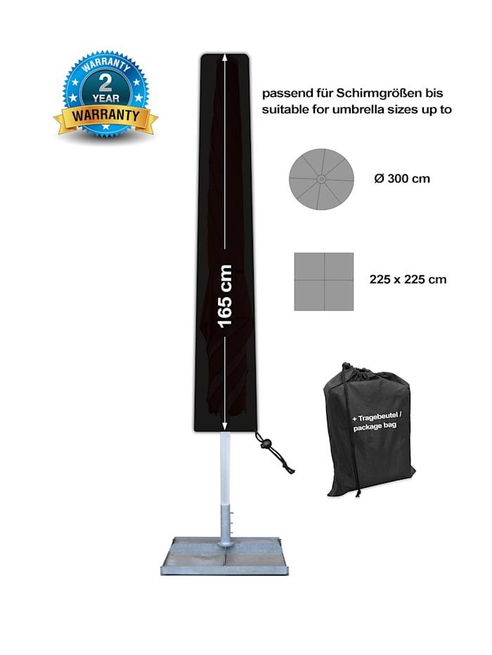 Black Premium Schirmhülle 165 cm /  umbrella cover / atmungsaktiv /  breathable
