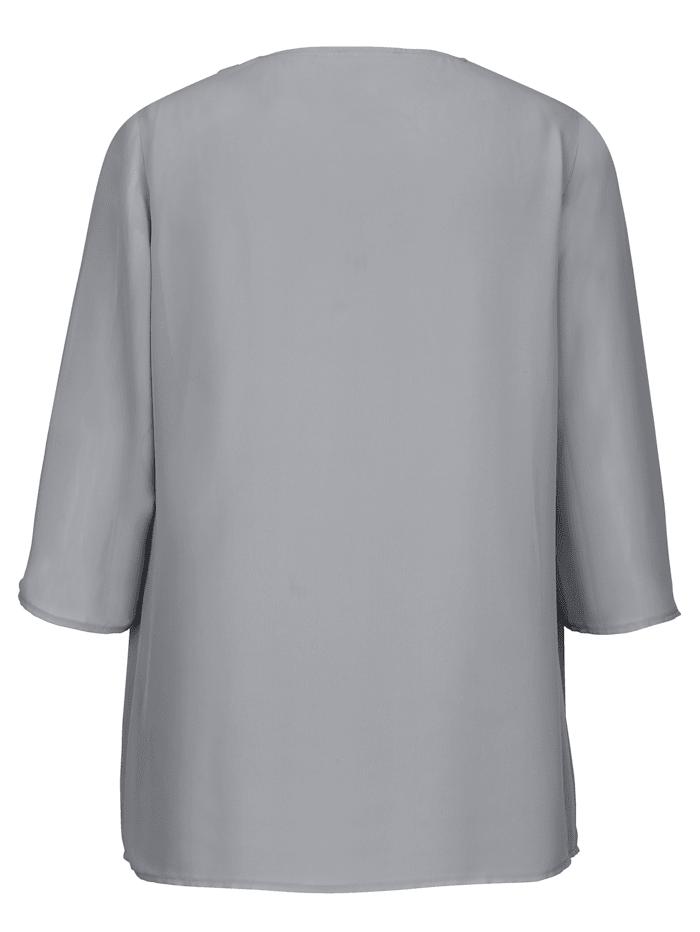 T-shirt 2 en 1 à effet superposé pratique