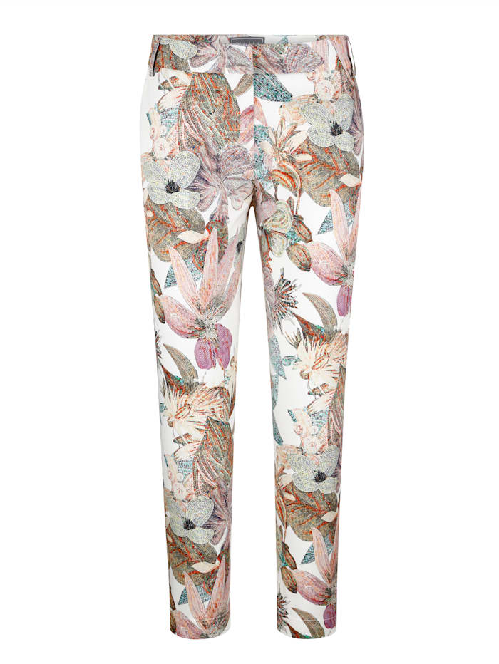 Kalhoty s hezkým potiskem džungle