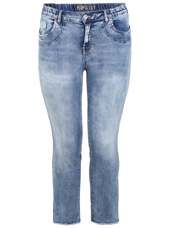 Purple Lily Jeans Camellia T108, blau