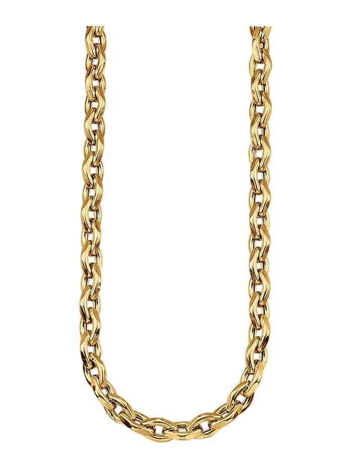 Diemer Gold Ankerkette in Gelbgold 750, Gelbgoldfarben