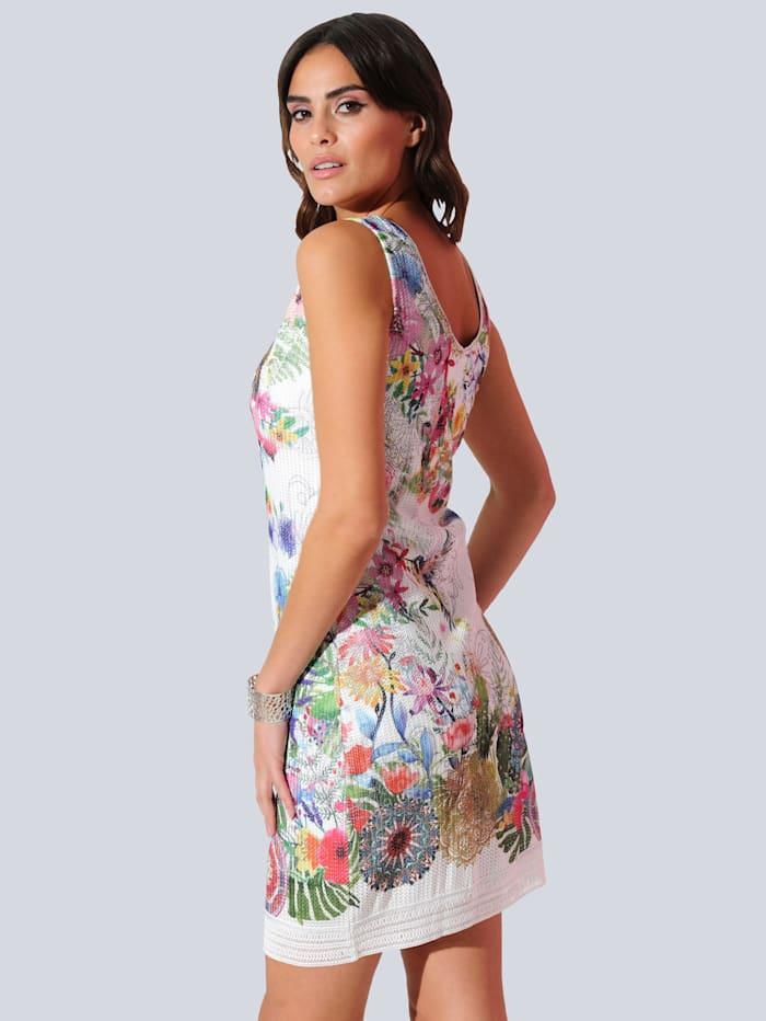 Šaty celoplošne s kvetinovým vzorom