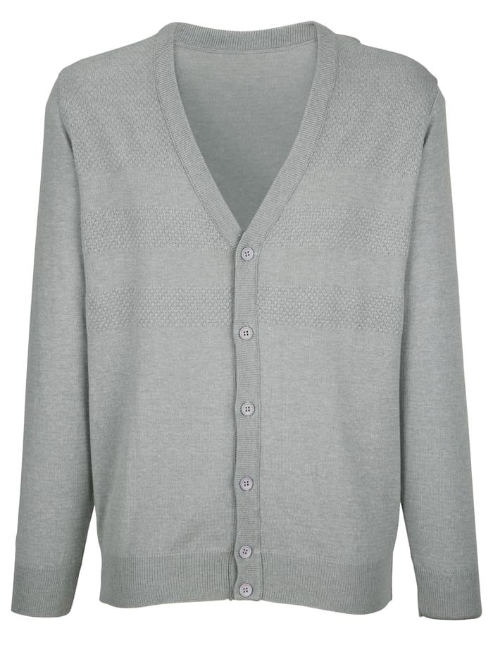Vest met breipatroon