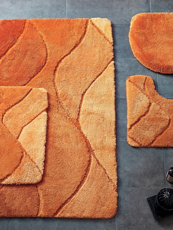 Kleine Wolke Bademattenserie 'Fiona', Orange