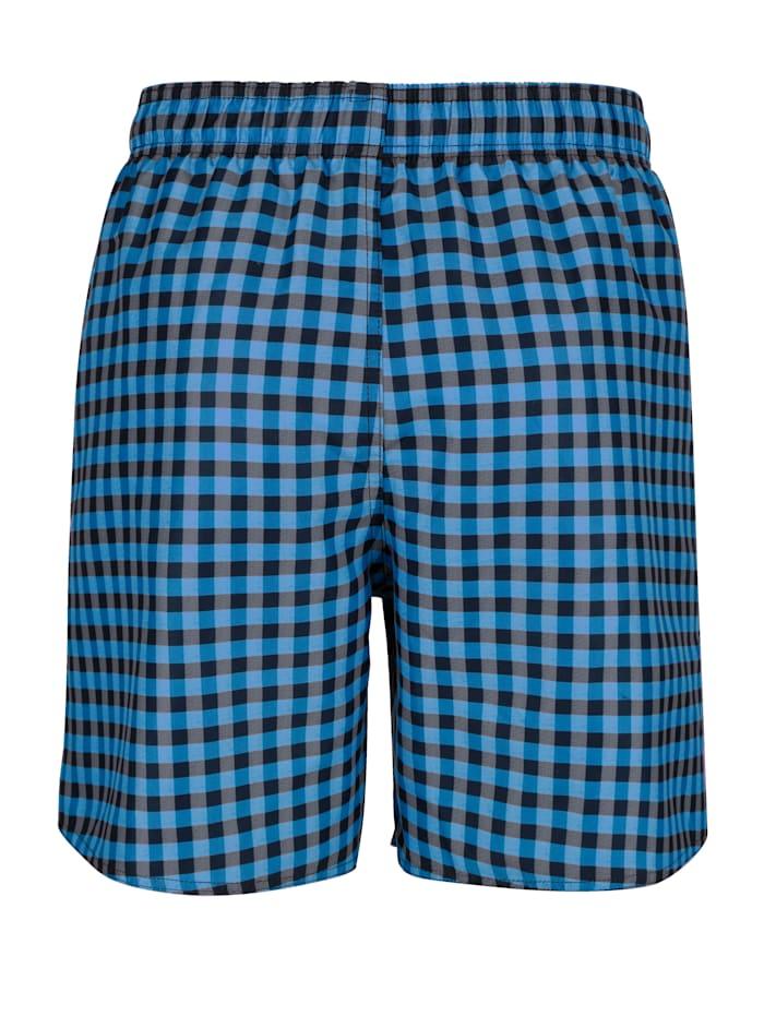 Shorts de bain par lot de 2 à carreaux