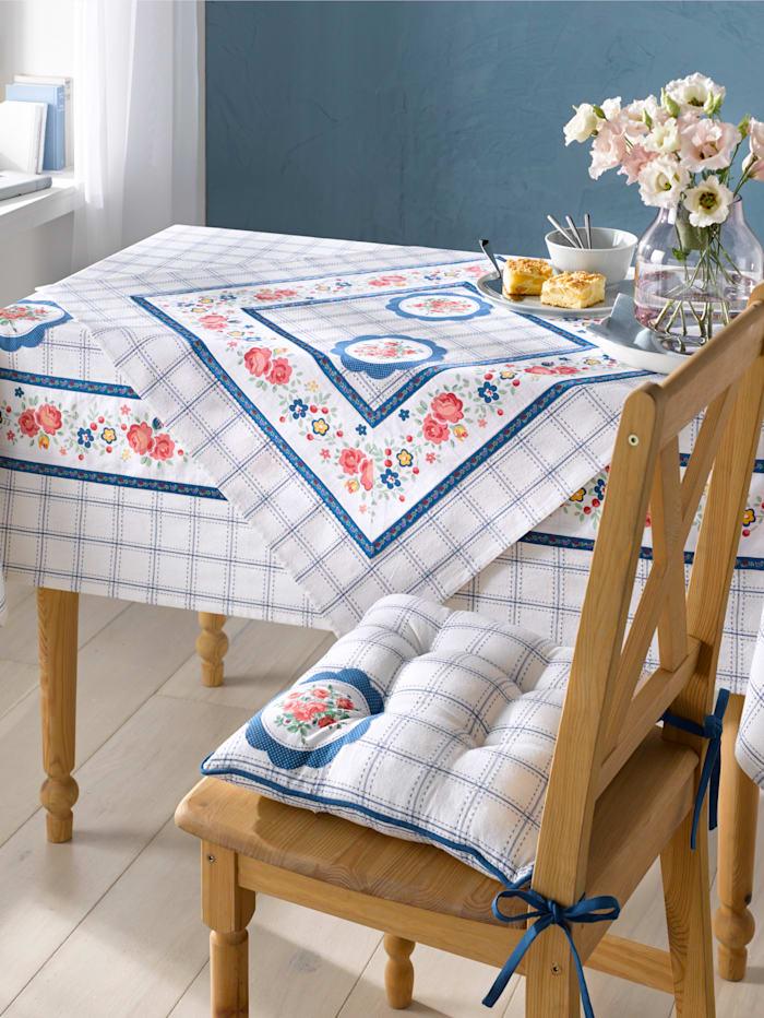 Webschatz Tischwäsche 'Liara', blau-weiß-rot