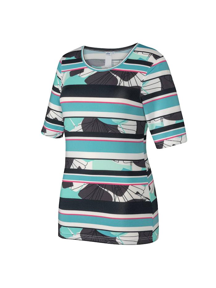JOY sportswear T-Shirt CHIARA, jade stripes