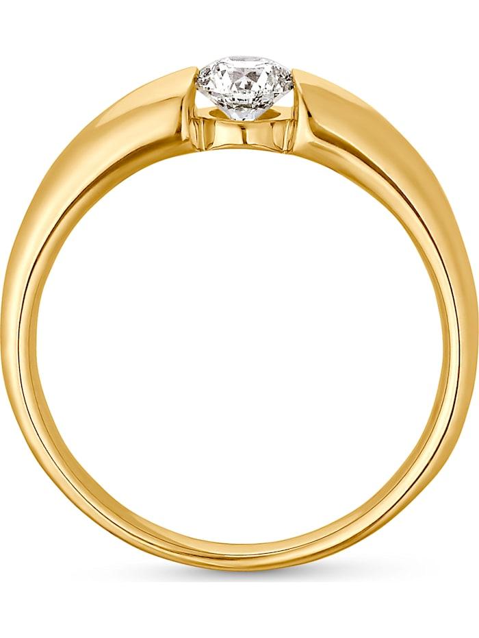 CHRIST Damen-Damenring 1 Diamant
