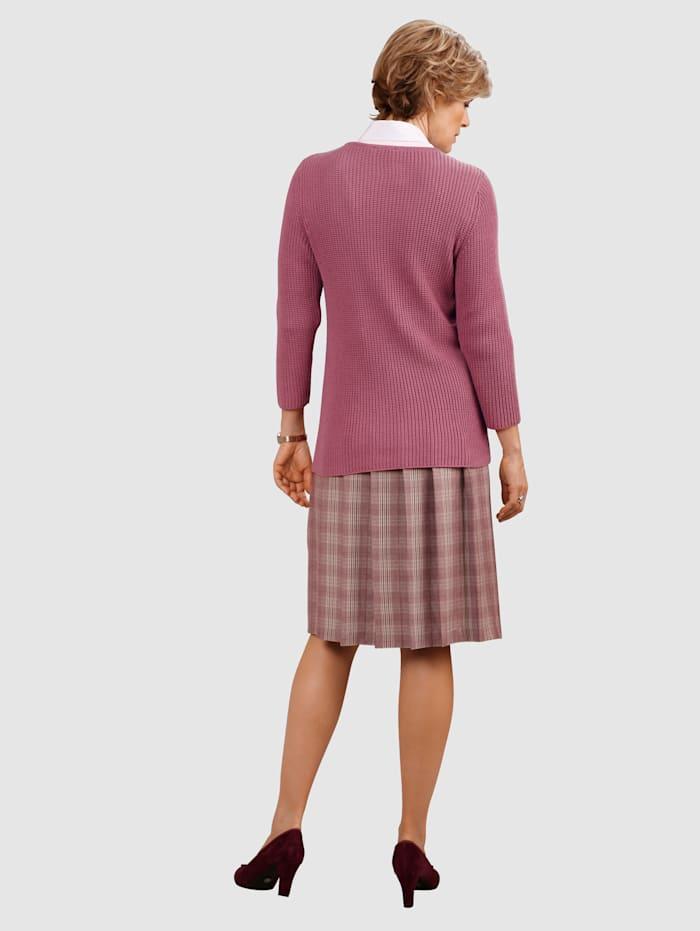 Skirt Timeless glen check pattern