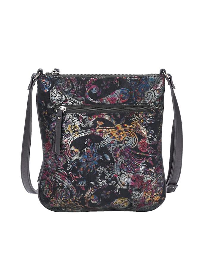 Shoulder bag in an ornamental design