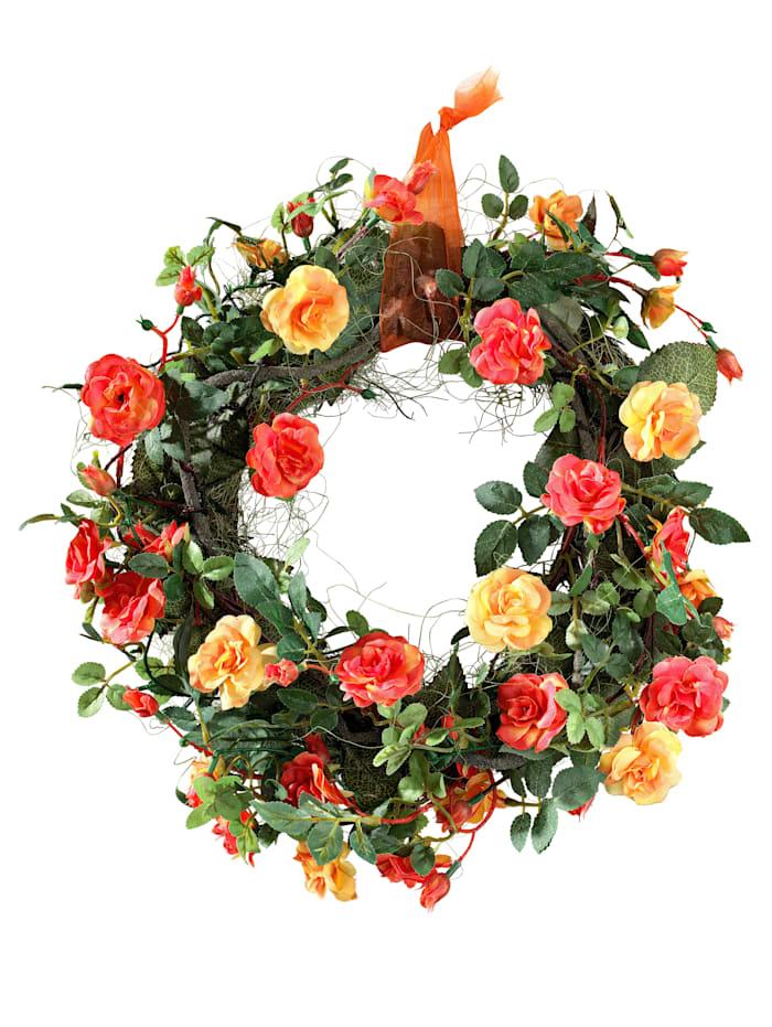 Věnec z divých růží, Oranžová