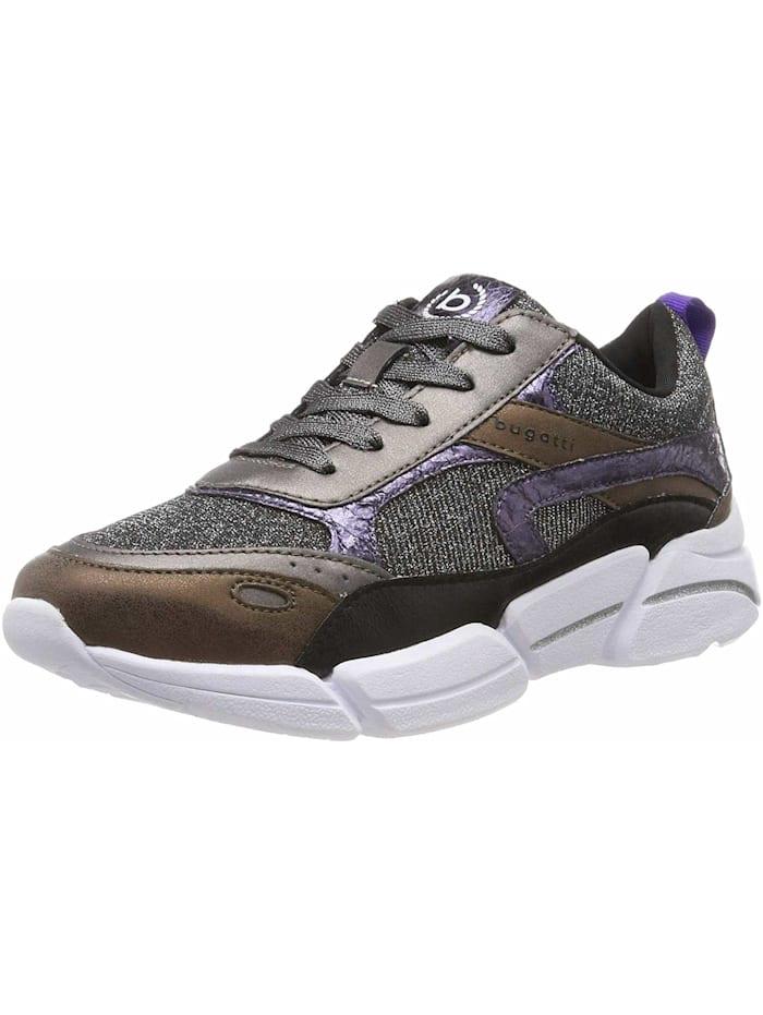 Bugatti Sneakers, dunkel-grau