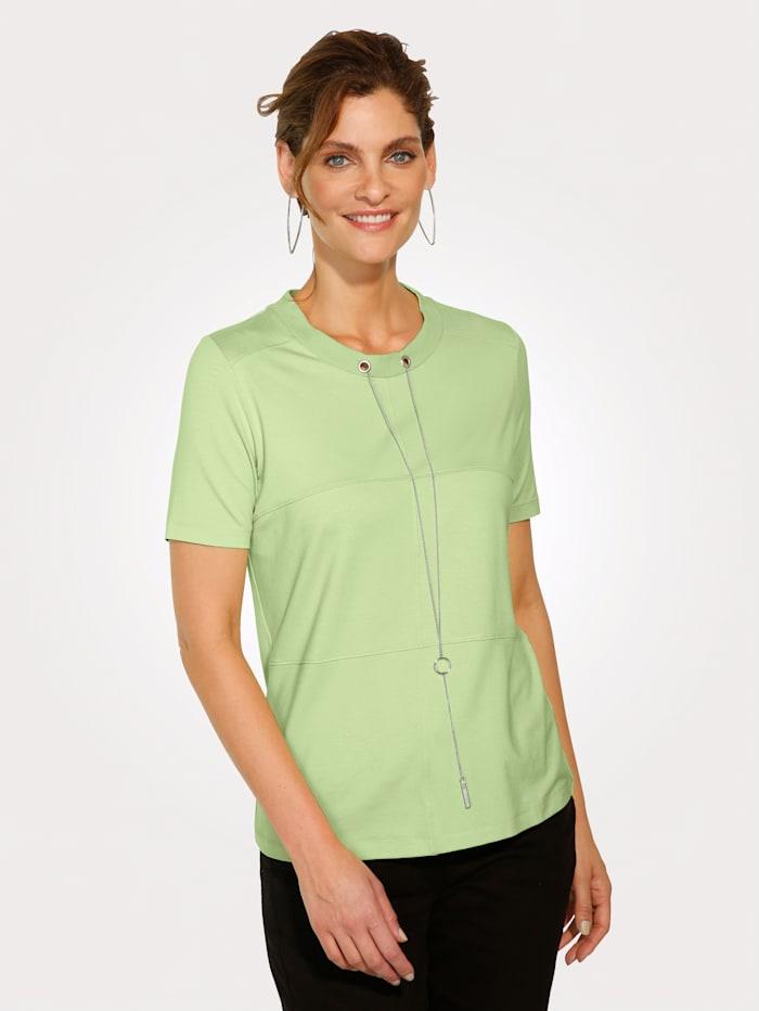 Shirt mit abnehmbarer Kette