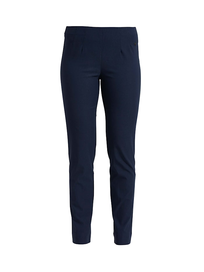 LauRie Hose Betty mit Stretch-Anteil, Navy