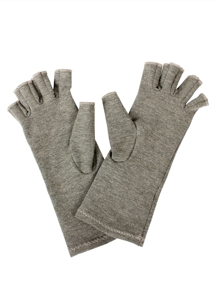 Vital Comfort Comforthandschoenen met koperdraden, grijs