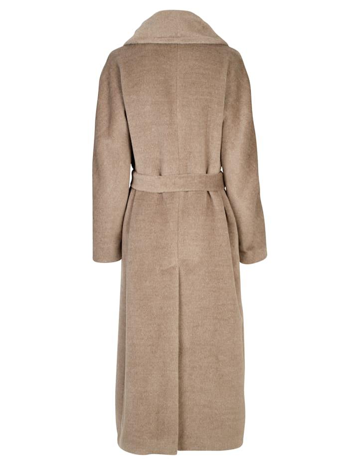 Manteau en laine d'Alpaga