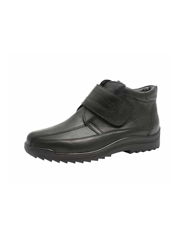 Waldläufer Herren Stiefel in schwarz, schwarz