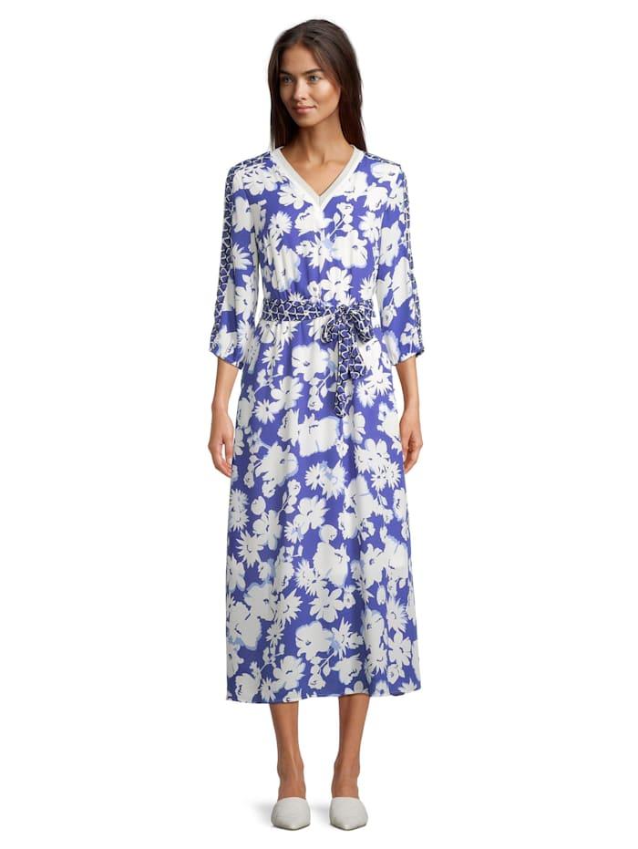 Betty Barclay Sommerkleid mit 3/4 Arm, Blau