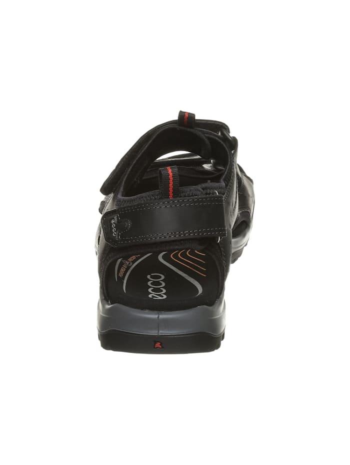 Herren Sandale in schwarz