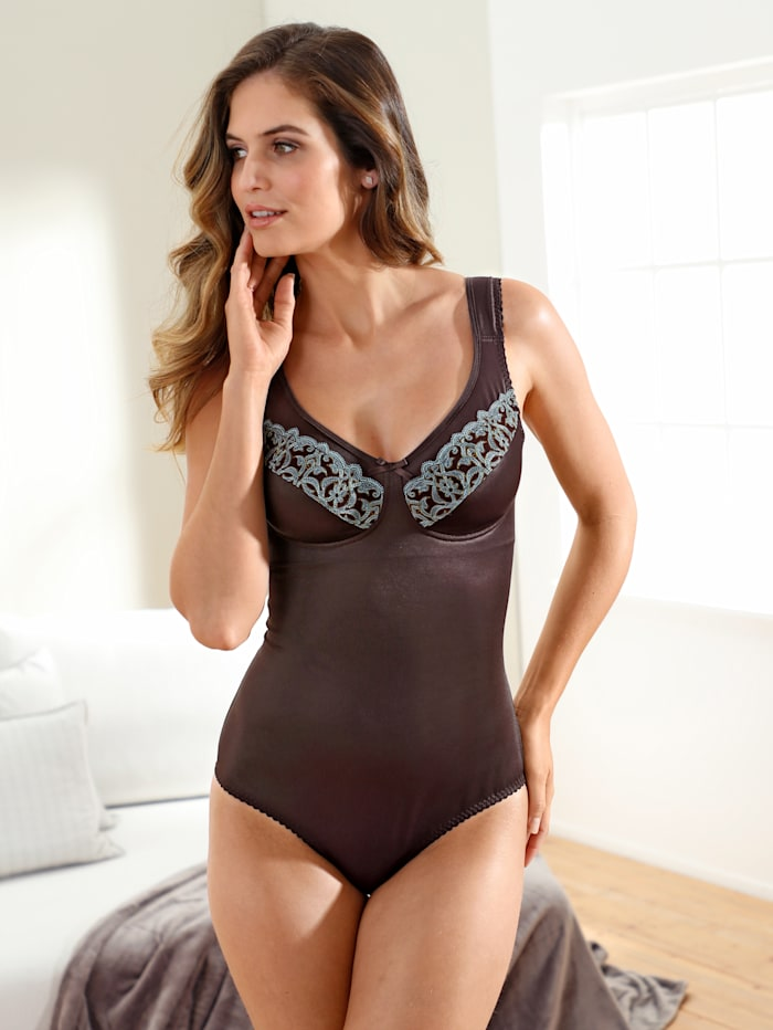Firm Control Underwired Bodysuit made from shape holding fabric