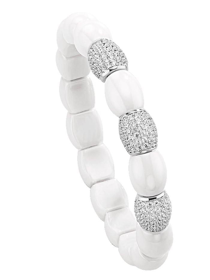Armband met elementen van keramiek