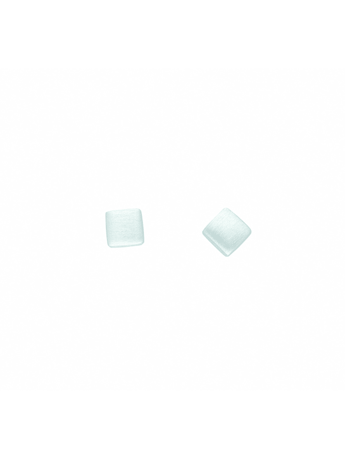 1001 Diamonds Damen Silberschmuck 925 Silber Ohrringe / Ohrstecker, silber
