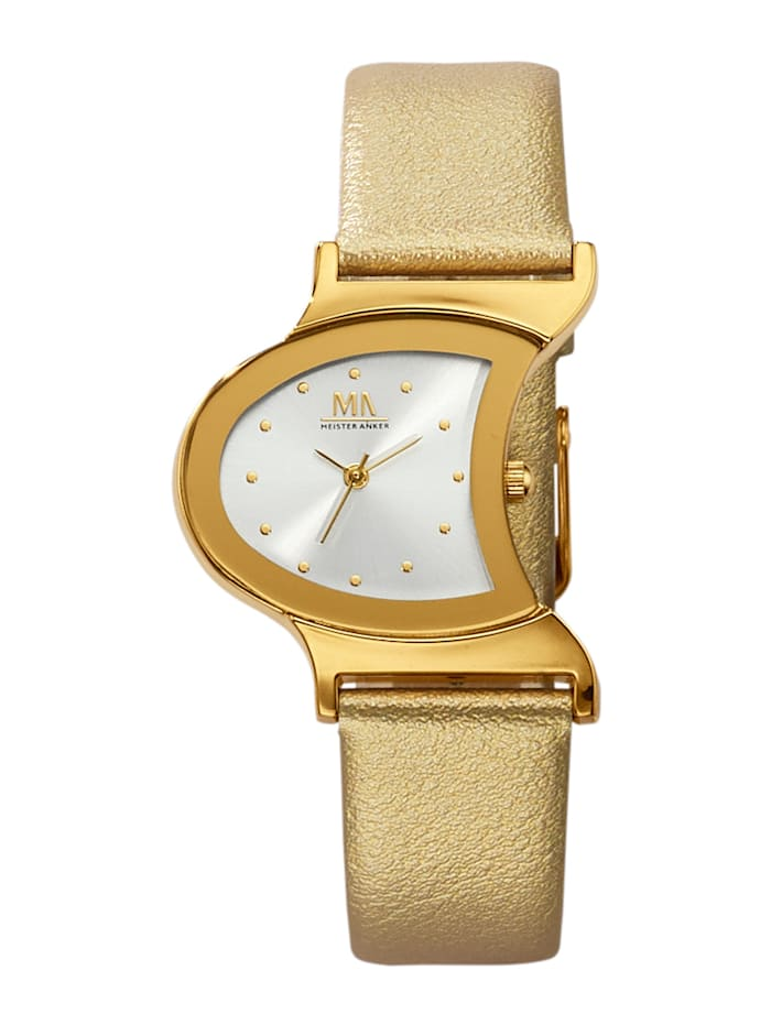 Meister Anker Dámske hodinky, Farba žltého zlata