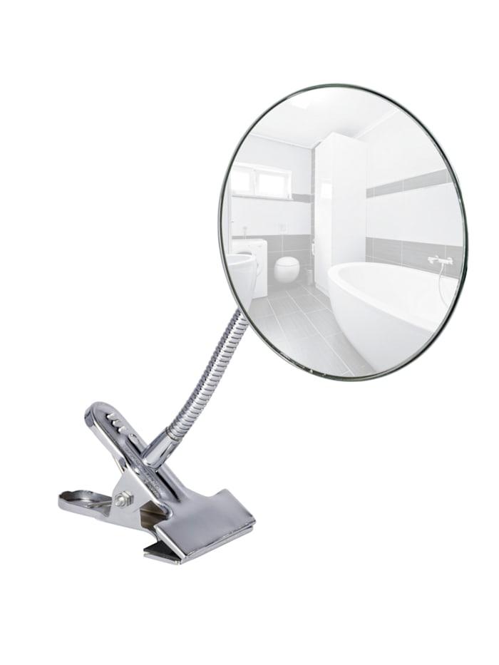 Wenko Kosmetikspiegel Clip, 5-fach Vergrößerung, Chrom