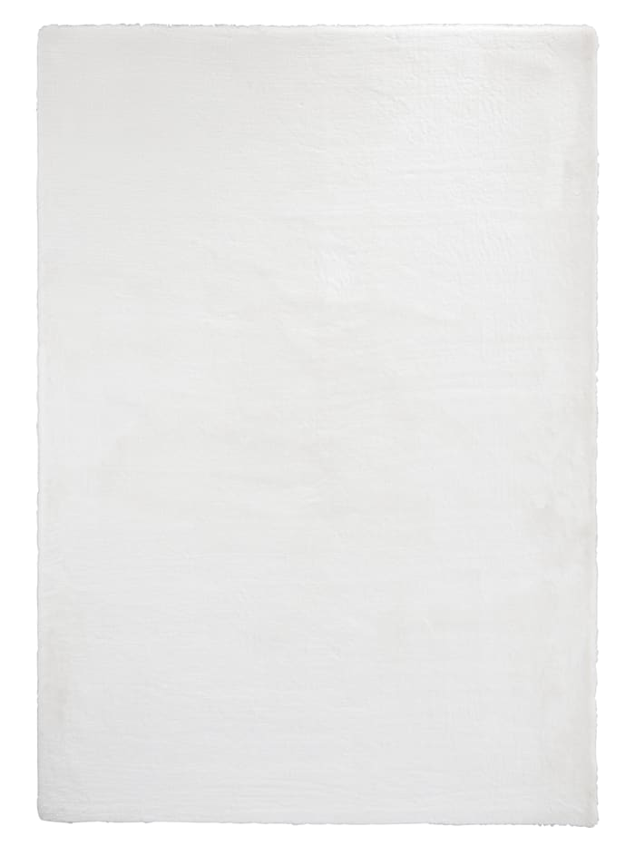 Webschatz Fellteppich 'Martin', Weiß