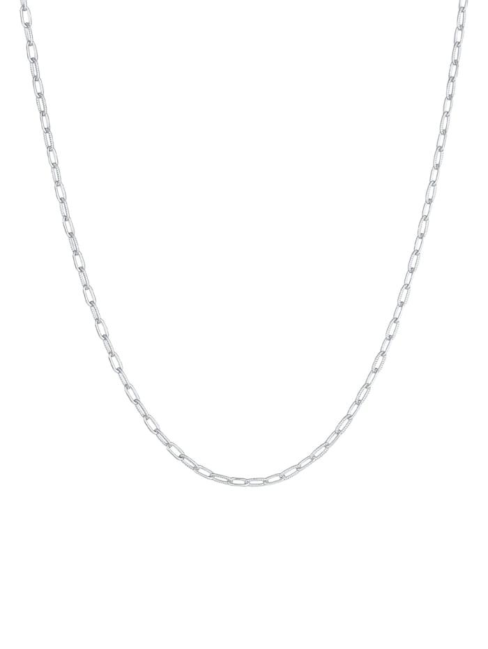 Halskette Gliederkette Oval Chain Basic Trend 925 Silber