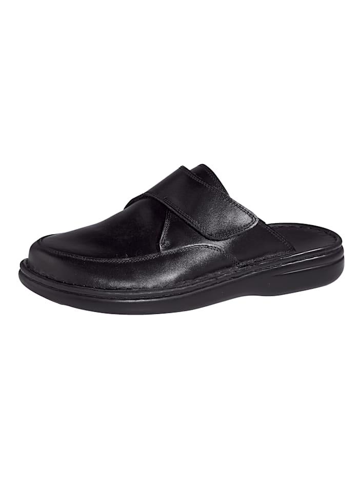 Nazouvací obuv s praktickým suchým zipem, Černá