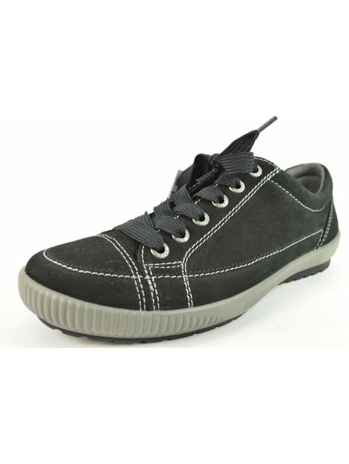 Legero Damen Schnürschuh in schwarz, schwarz