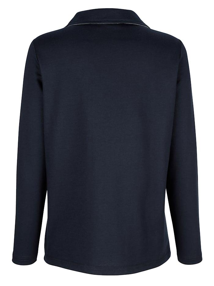 Sweatshirt mit Paisleymotiv