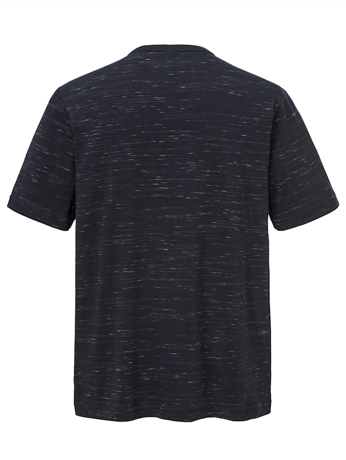 T-shirt in vlamgarenlook