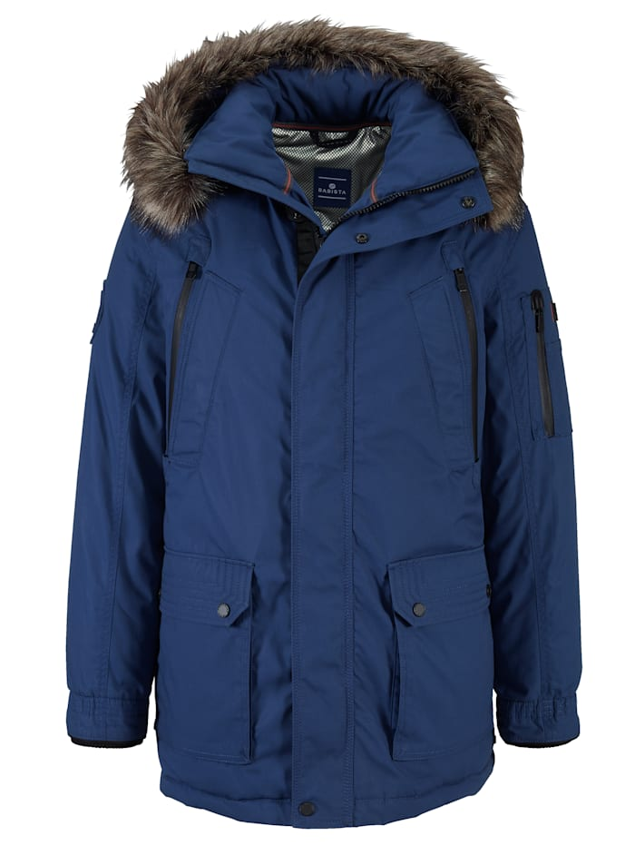BABISTA Parka met thermometer, Royal blue