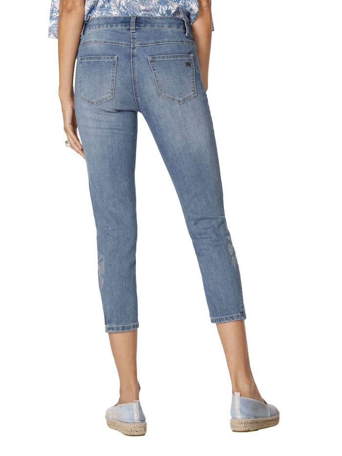 Jeans med strass