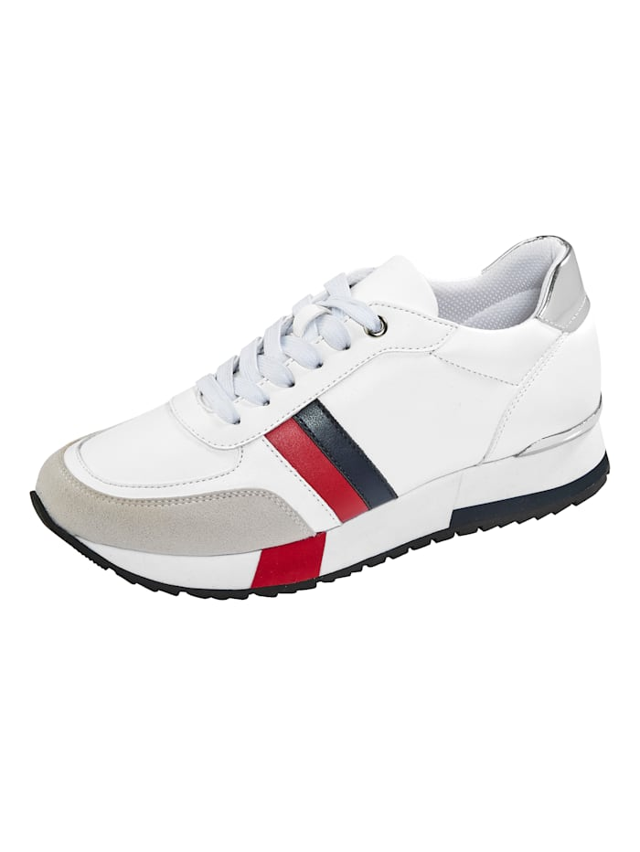 Liva Loop Sneaker im Maritimen-Look, Weiß